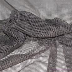 Elastyczna siatka poliestrowa szara, oczka 1x1 mm - DZ-008-101