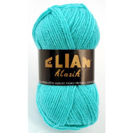 Włoczka Elian Klasik 211 kolor zielony