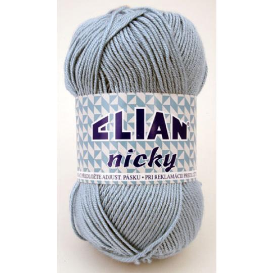 Włóczka Elian Nicky 231 kolor niebieski