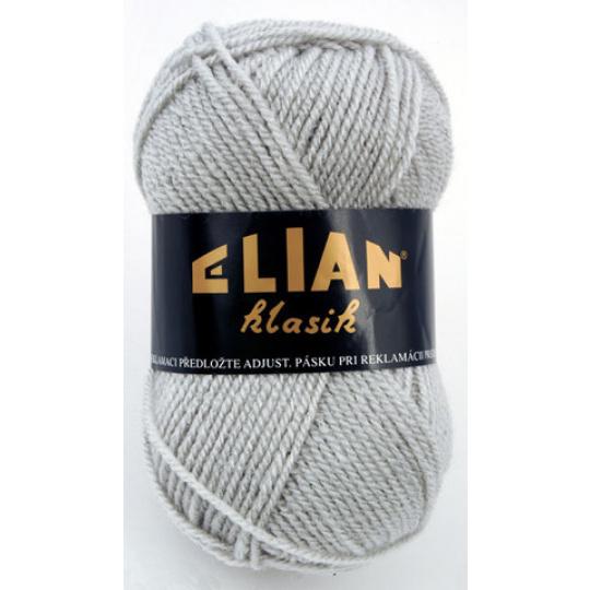 Włoczka Elian Klasik 130 kolor szary