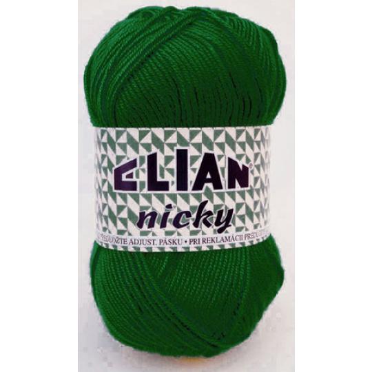 Włóczka Elian Nicky 10026 kolor zielony