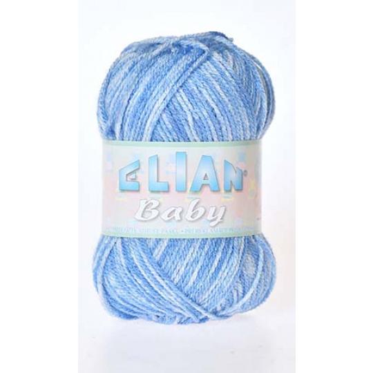 Włóczka Elian Baby 706 kolor niebieski