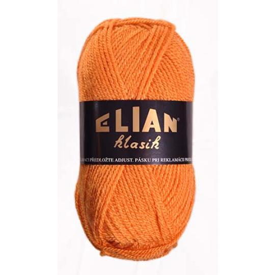 Włoczka Elian Klasik 4946 kolor pomarańczowy
