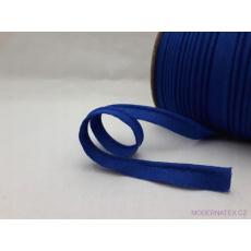Lamówka bawełniana niebieska 340