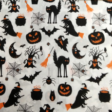 Tkanina bawełniana wzór Halloween
