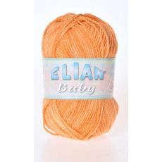 Włóczka Elian Baby 766 kolor pomarańczowy