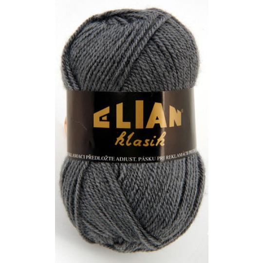 Włoczka Elian Klasik 131 kolor szary