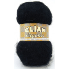 Włóczka Elian Elegance 217 kolor czarny