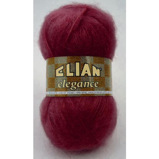 Włóczka Elian Elegance 6389 kolor czerwony