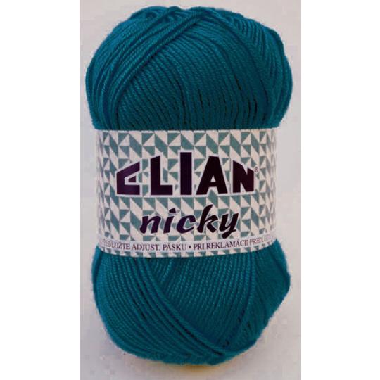 Włóczka Elian Nicky 3812 kolor niebieski