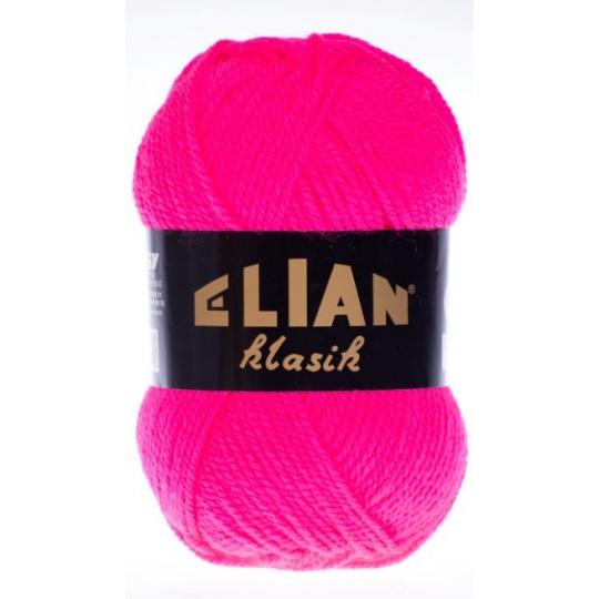 Włoczka Elian Klasik 98396 kolor różowy