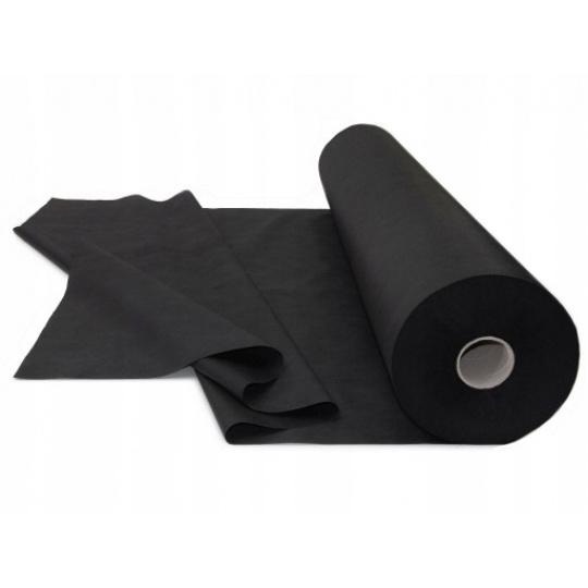Tkanina Bawełniana Jednokolorowa Czarna 170 gr/m2