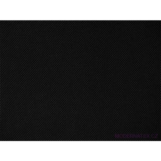 Tkanina Wodoodporna Oxford w kolorze Czarnym