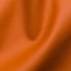 Eko skóra SOFT w kolorze pomarańczowym