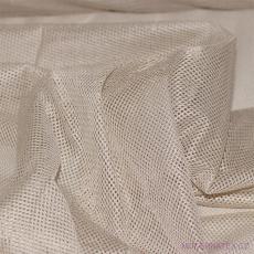 Elastyczna siatka poliestrowa beżowa, oczka 1x1 mm - DZ-008-100