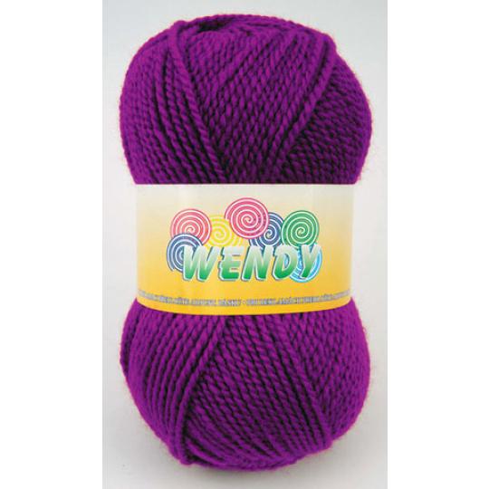 Włóczka Elian Wendy 4967 kolor fioletowy