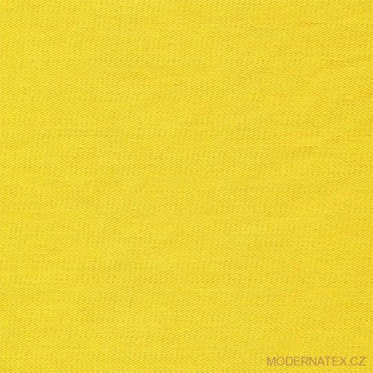 Diagonal bawełniany Żółty 245x33