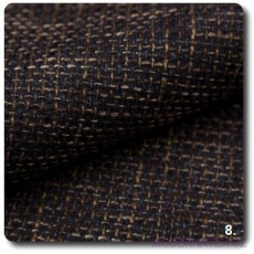 Tkanina obiciowa NEVADA w kolorze czarno - brązowym