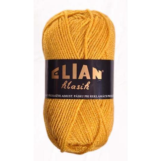 Włoczka Elian Klasik 5095 kolor żółty