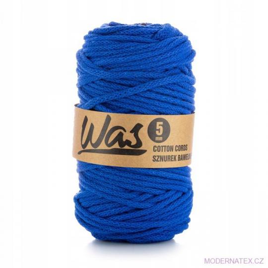 Sznurek bawełniany 5mm, 100m Ciemny niebieski