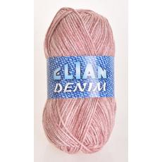 Włóczka Elian Denim 775 kolor różowy