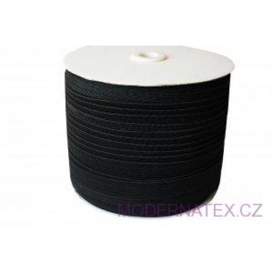 Gumka odzieżowa, szer. 15 mm - Czarna, 100 m