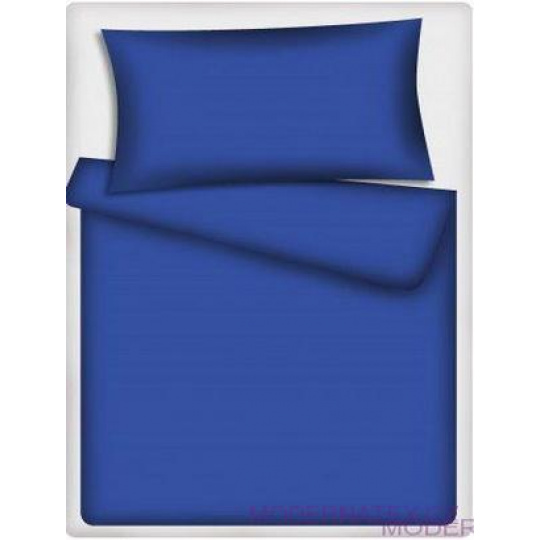 Tkanina Bawełniana Jednokolorowa Niebieski