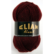 Włoczka Elian Klasik 129 kolor winny