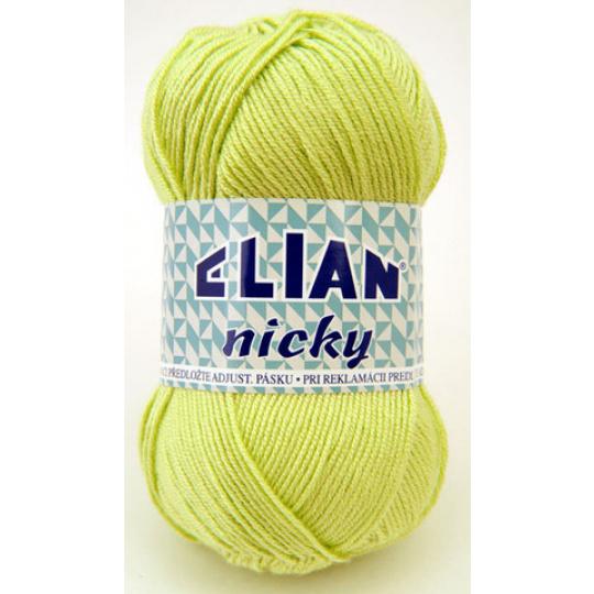 Włóczka Elian Nicky 4853 kolor zielony