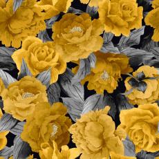 Welurowa tkanina obiciowa z nadrukiem 401067-109