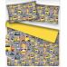 Tkanina bawełniana wzór Budowa żółty