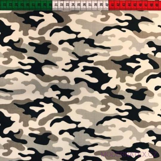 Tkanina bawełniana wzór Moro