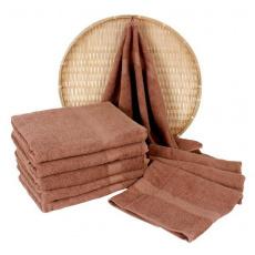 Darsi froté ručník 50x100 cm barva bežová
