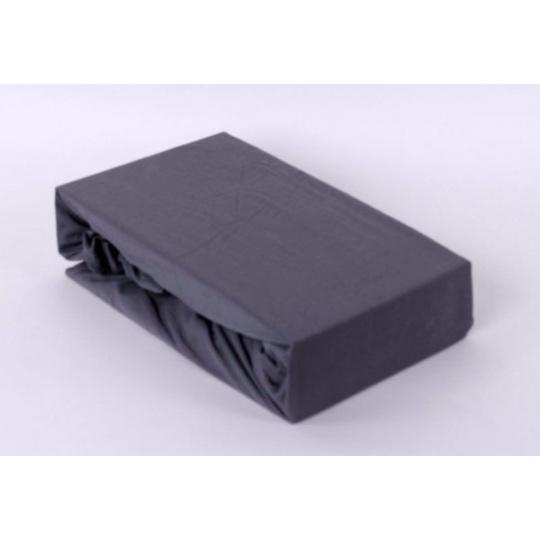Jersey prostěradlo Exclusive - šedá 160x200 cm  varianta šedá
