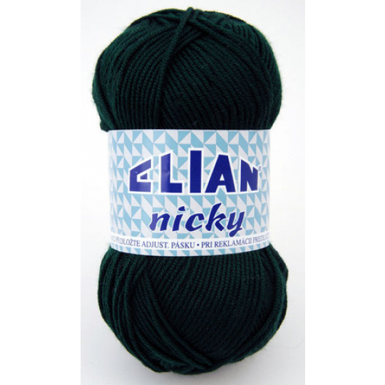 Włóczka Elian Nicky 204 kolor zielony