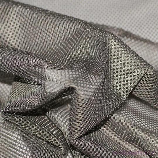 Elastyczna siatka poliestrowa szara, oczka 1x1 mm 106