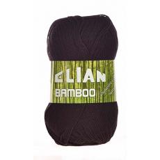 Włóczka Elian Bamboo 217 kolor czarny