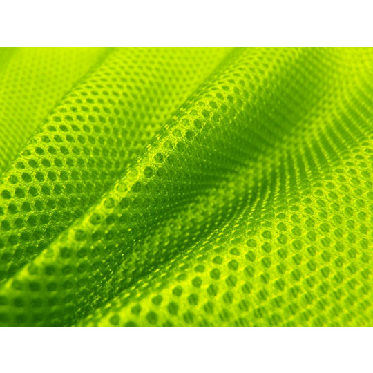 Siatka dystansowa (Tkanina 3D) kolor Żółty Neo - D1003
