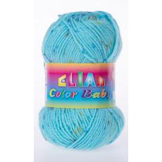 Włóczka Color Baby 138 kolor niebieski