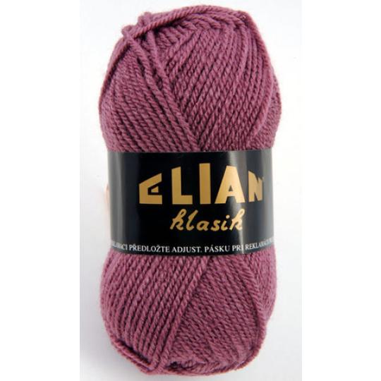 Włoczka Elian Klasik 958 kolor fioletowy