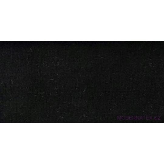 Dzianina Dresówka PREMIUM w kolorze czarnym