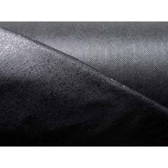 Flizelina z klejem w kolorze czarnym, 40 g/m2
