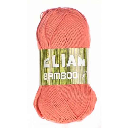 Włóczka Elian Bamboo 3278 kolor czerwony