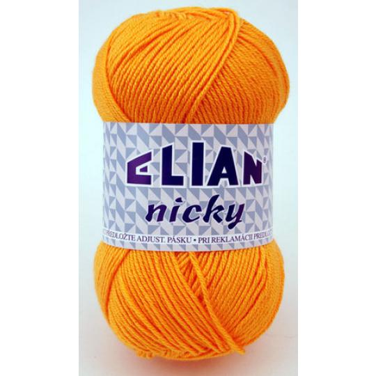Włóczka Elian Nicky 1014 kolor pomarańczowy