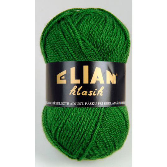 Włoczka Elian Klasik 3584 kolor zielony