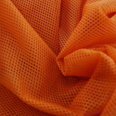 Elastyczna siatka poliestrowa pomarańczowa, oczka 1x1 mm- DZ-008-104