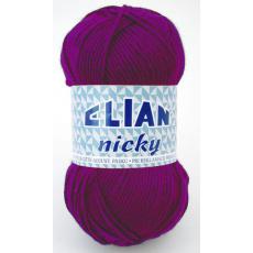 Włóczka Elian Nicky 4967 kolor fioletowy