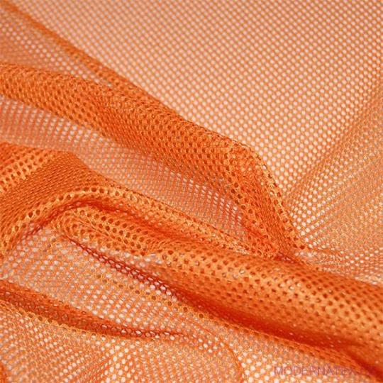 Elastyczna siatka poliestrowa pomarańczowa, oczka 2x2 mm - DZ-008-133