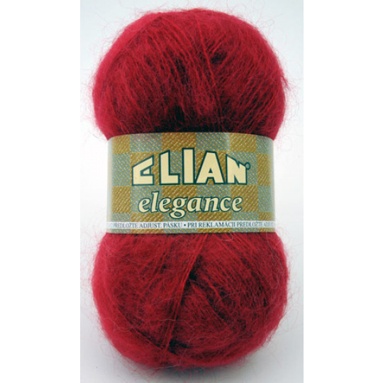 Włóczka Elian Elegance 174 kolor czerwony