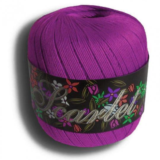 Włoczka Elian Scarlet 5410 kolor fioletowy